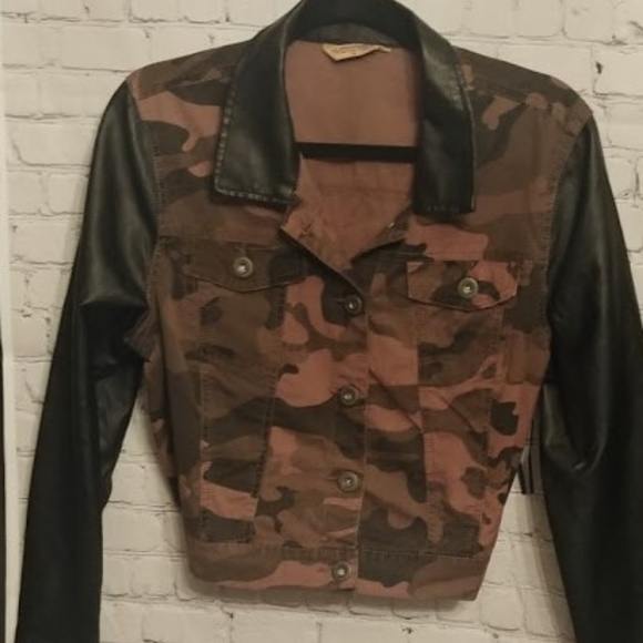 8d99b4f3eed40 Highway Jeans Jackets & Coats | Camo Print Denim Jacket | Poshmark